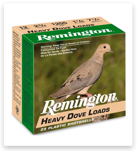 Remington Heavy Dove Loads 20 Gauge Ammo