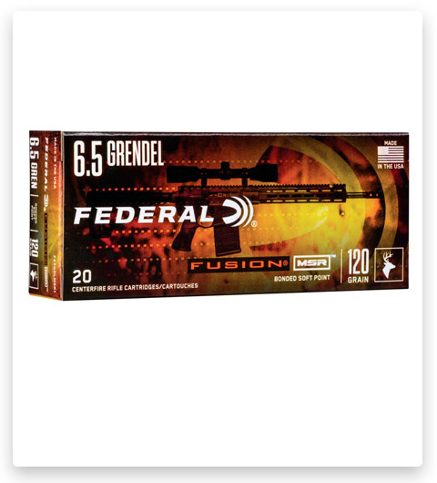 Federal Premium Fusion 6.5mm Grendel Ammo 120 grain