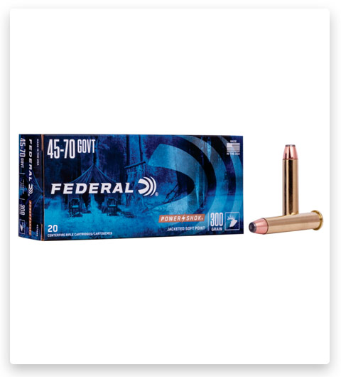 Federal Premium Power-Shok 45-70 Government Ammo 300 grain