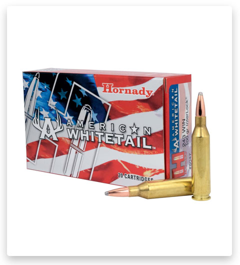 Hornady American Whitetail 243 Winchester Ammo 100 Grain