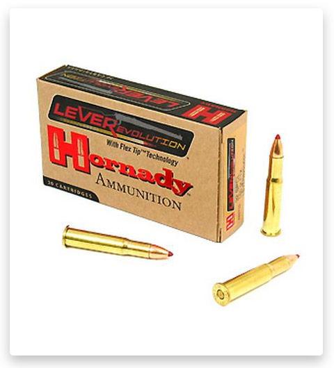 4 Hornady LEVERevolution .32 Winchester Special Ammo 165 Grain