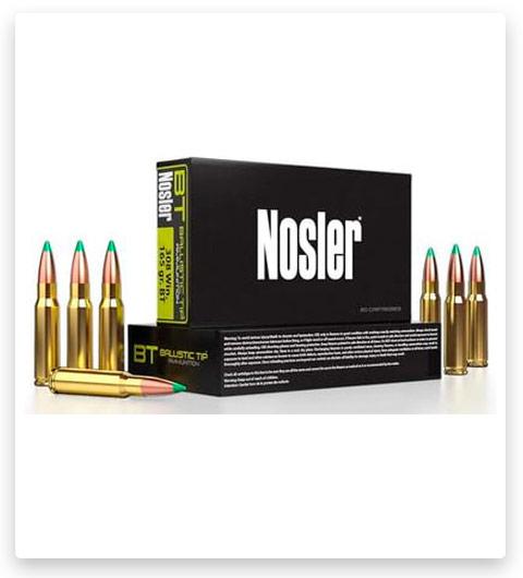 Nosler Ballistic Tip Hunting 6.5 PRC Ammo 160 grain