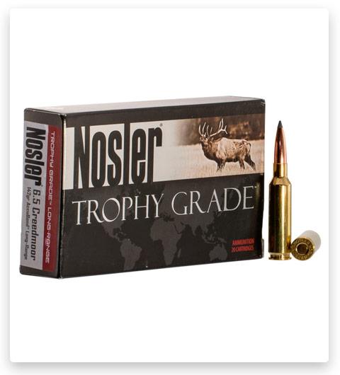 Nosler Trophy Grade 6.5mm Creedmoor Ammo 142 Grain