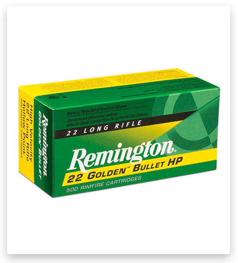 Remington 22 Golden Bullet 22 Long Rifle Ammo 36 Grain