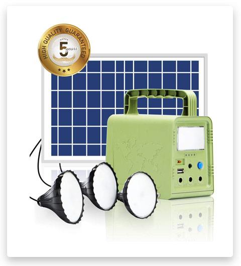 WAWUI Portable Solar Generator Station 84Wh