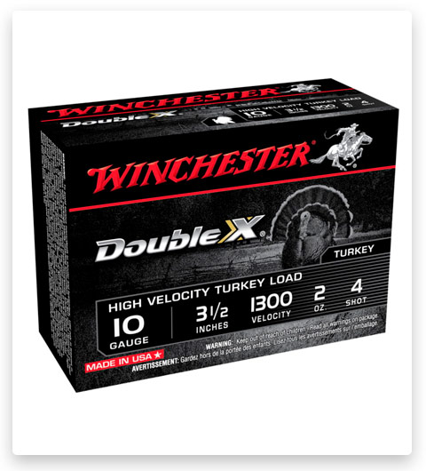 Winchester DOUBLE X 10 Gauge Ammo