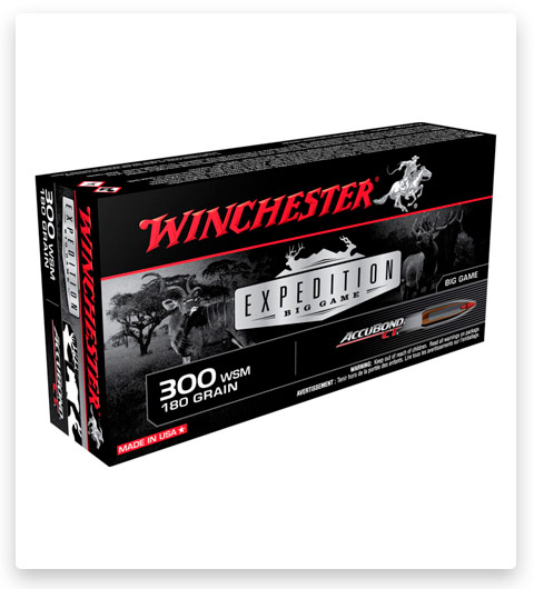 Winchester S300WSMCT Expedition Big Game 300 WSM Ammo 180 Grain