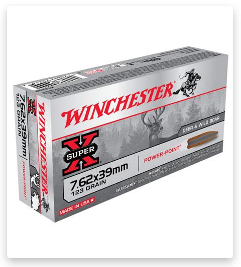 Winchester SUPER-X RIFLE 7.62x39mm Ammo 123 grain
