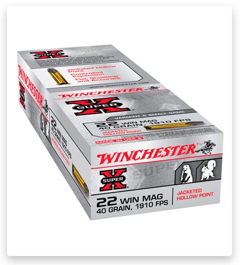 Winchester SUPER-X RIMFIRE 22 Winchester Magnum Rimfire Ammo 40 grain