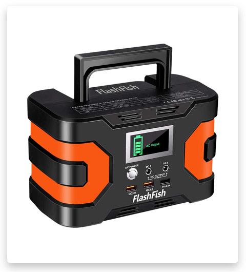 Flashfish 200W Peak Solar Generator Station (Battery 166Wh, 45000mAh)