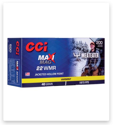 CCI MeatEater Series Maxi-Mag 22 Winchester Magnum Rimfire Ammo 40 grain