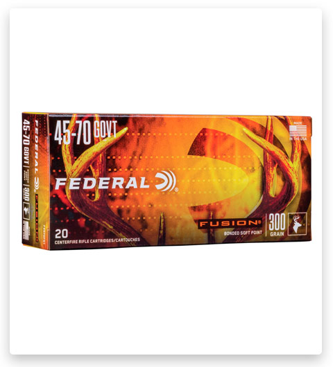 Federal Premium FUSION 45-70 Government Ammo 300 grain