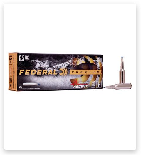 Federal Premium TERMINAL ASCENT 6.5 PRC Ammo 130 grain