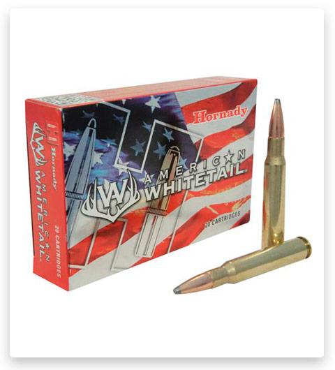 Hornady American Whitetail 30-06 Springfield Ammo 180 Grain