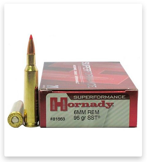 Hornady Superformance 6mm Remington Ammo 95 Grain