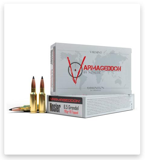 Nosler Match Grade 6.5mm Grendel Ammo 90 Grain