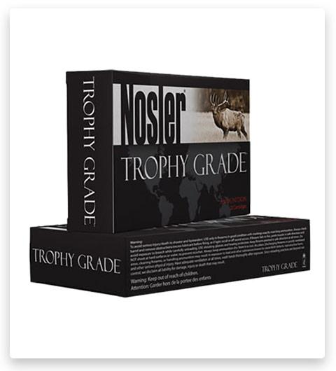 Nosler Trophy Grade 338 Winchester Magnum Ammo 250 Grain