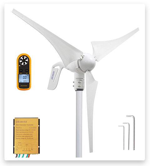 Pikasola Wind Turbine Generator 400W 12V