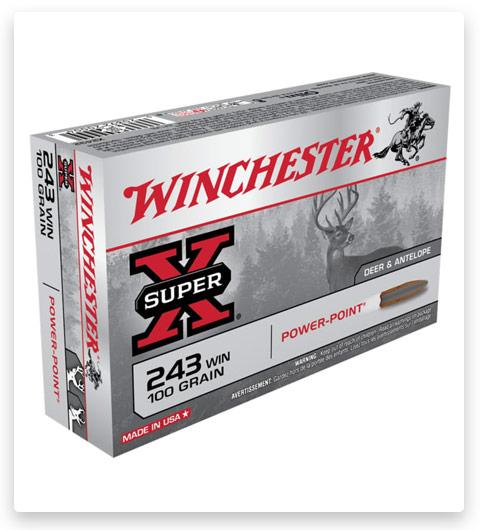 Winchester SUPER-X RIFLE 243 Winchester Ammo 100 grain