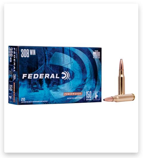 Federal Premium Power-Shok 308 Winchester Ammo 150 grain