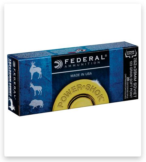 Federal Premium Power-Shok 7.62x39mm Ammo 123 grain