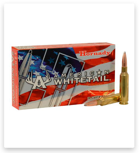 Hornady American Whitetail 6.5mm Creedmoor Ammo 129 Grain