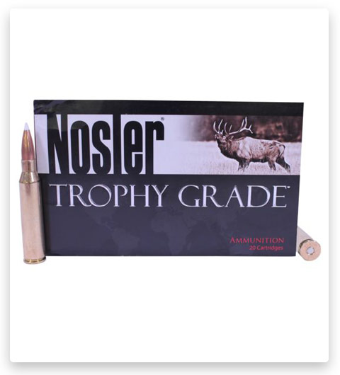 Nosler Trophy Grade 338 Lapua Magnum Ammo 300 Grain