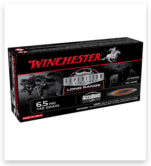 Winchester Expedition Big Game Long Range 6.5 PRC Ammo 142 Grain