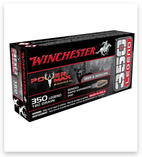 Winchester POWER MAX BONDED 350 Legend Ammo 160 grain