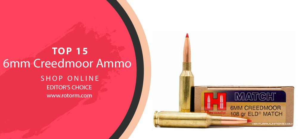 Best 6mm Creedmoor Ammo