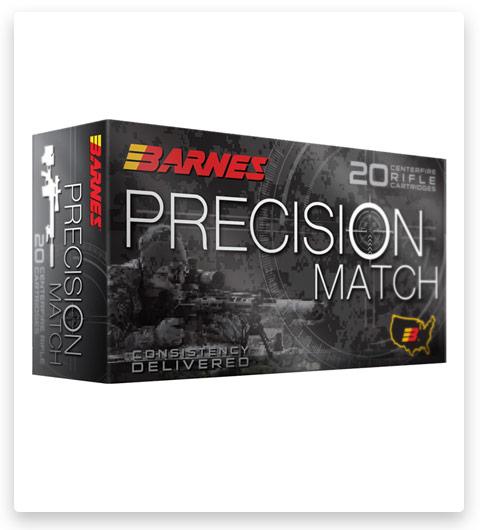 Barnes Precision Match 260 Remington Ammo 140 grain