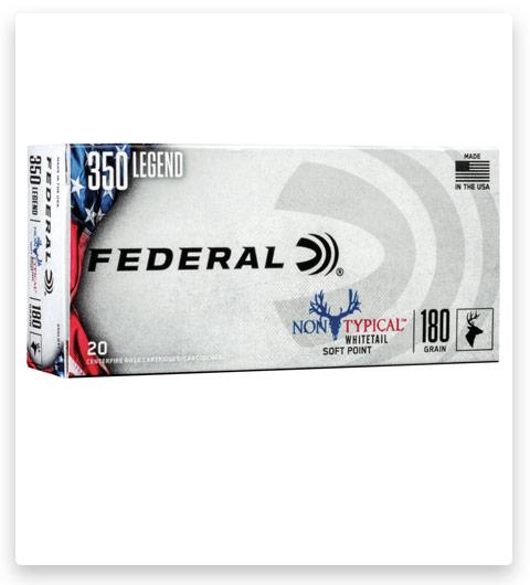 Federal Premium Non-Typical 350 Legend Ammo 180 grain