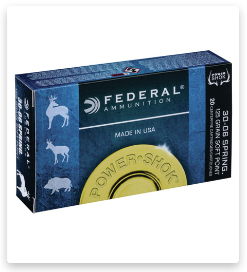 Federal Premium Power-Shok 375 H&H Magnum Ammo 300 grain