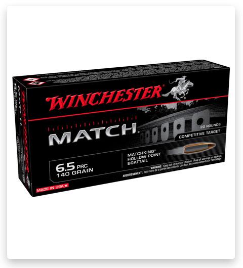 Winchester Match 6.5 PRC 140 Ammo Grain