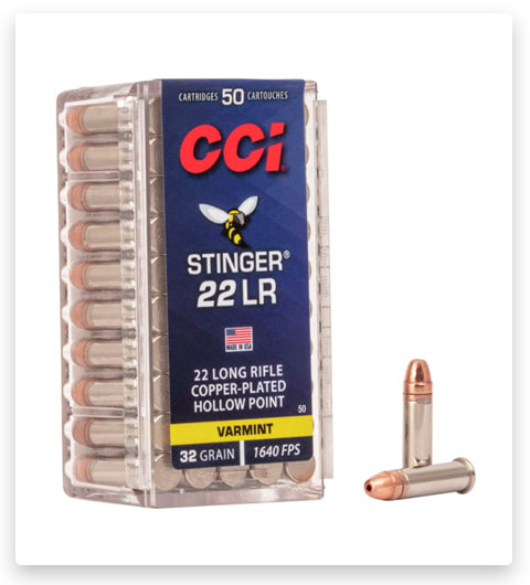 CCI Stinger 22 Long Rifle Ammo 32 grain
