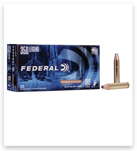 Federal Premium Power-Shok 350 Legend Ammo 180 grain