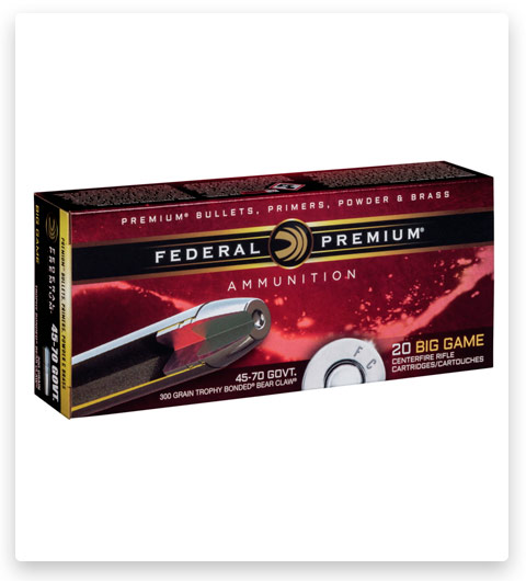 Federal Premium VITAL-SHOK 45-70 Government Ammo 300 grain