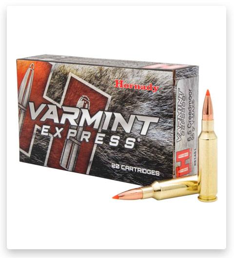 Hornady Varmint Express 6.5mm Creedmoor Ammo 95 Grain