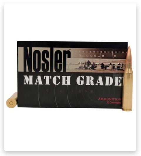 Nosler Match Grade 338 Lapua Magnum Ammo 300 Grain