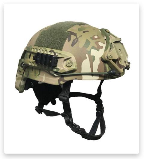 United Shield Spec Ops Delta Mid Cut X-harness Tactical Helmet