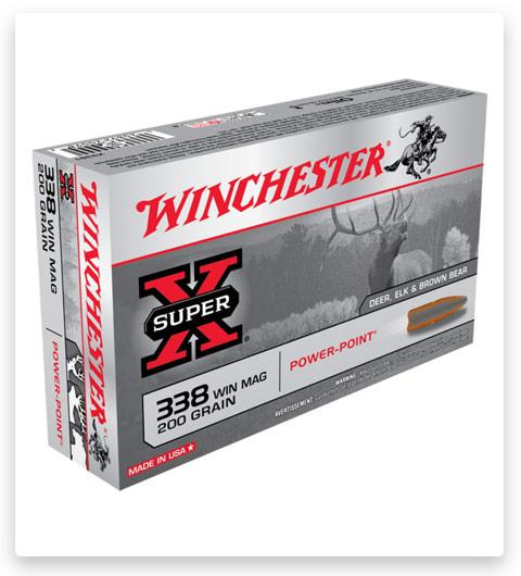 Winchester SUPER-X RIFLE 338 Winchester Magnum Ammo 200 grain