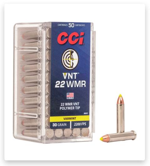 CCI VNT 22 Winchester Magnum Rimfire Ammo 30 grain