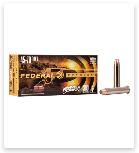Federal Premium HAMMER DOWN 45-70 Government Ammo 300 grain