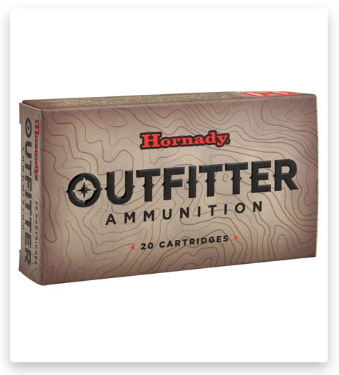 Hornady Outfitter 338 Winchester Magnum Ammo 225 Grain