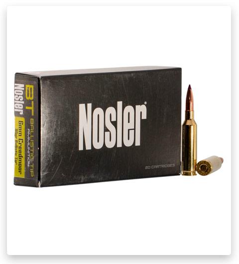 Nosler 6mm Creedmoor Ammo 95 Grain