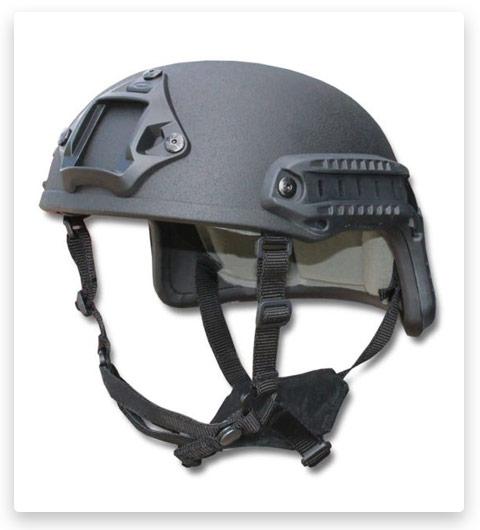 United Shield Spec Ops Delta Gen II Mid Cut Tactical Helmet