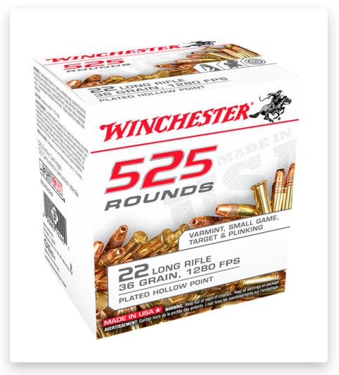 Winchester 525 22 Long Rifle Ammo 36 grain