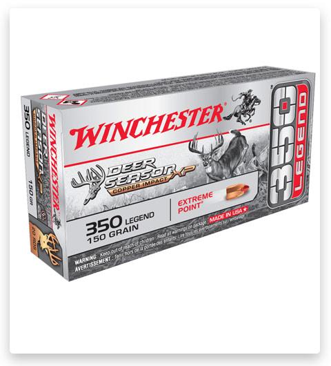 Winchester Deer Season XP Copper Impact 350 Legend Ammo 150 Grain