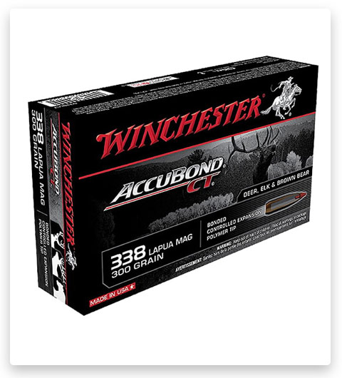Winchester S338LCT Expedition Big Game 338 Lapua Mag Ammo 300 Grain