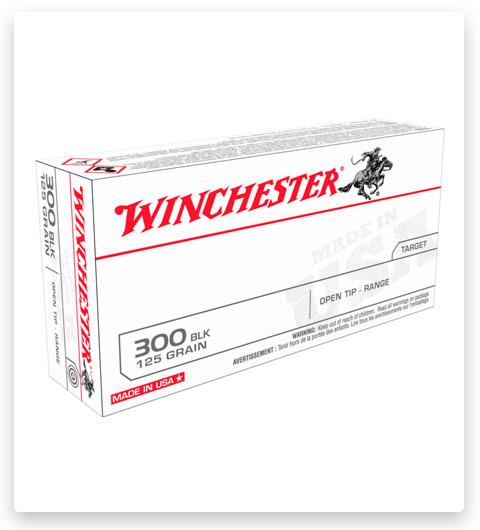 Winchester USA RIFLE 300 AAC Blackout Ammo 125 grain